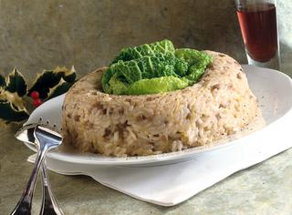 Anello di riso e lenticchie