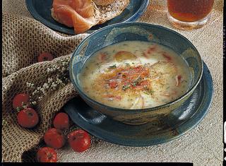 Ricetta Zuppa con patate e salmone