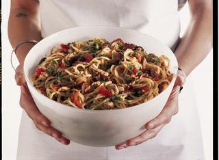 Ricetta Spaghettini alla sanremese