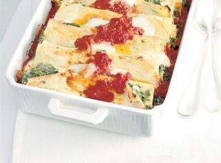 Ricetta Cannelloni con ricotta e spinaci
