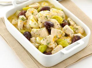 Ricetta Spezzatino di pollo all'arancia con olive nere