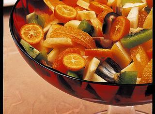 Macedonia di frutti invernali