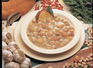 Zuppa di castagne dei monti Cimini