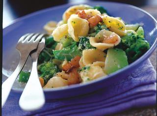 Ricetta Orecchiette con broccoli e lardo soffritto