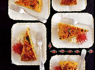 Frittata di pasta e verdure
