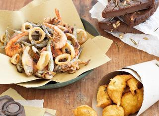 Ricetta Coculli fritti di farina di ceci