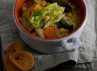Ricetta Zuppa di verza e ceci