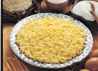Minestra di riso e latte