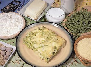 Ricetta Tagliatelle verdi con la besciamella