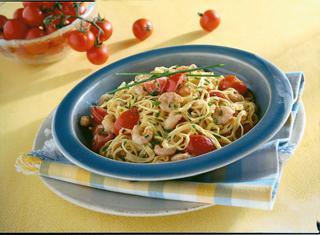 Ricetta Tagliolini ai gamberetti