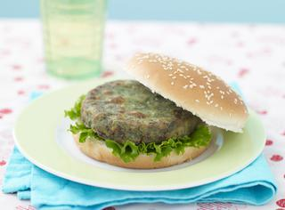 Ricetta Hamburger di spinaci