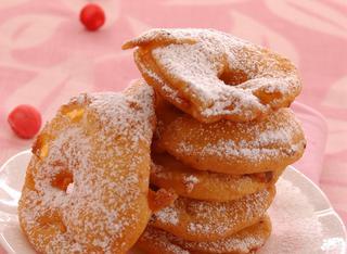 Ricetta Mele in pastella alla vaniglia