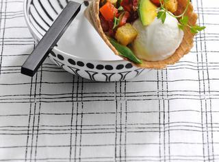 Ricetta Cornetti salati con gelato di yogurt e avocado