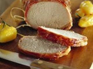 Lonza di maiale al forno
