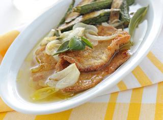Ricetta Cotolettine e zucchine in carpione