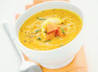Ricetta Crema di carote delicata