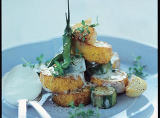 Ricetta Zucchine fritte con la cipolla dolce