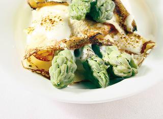 Ricetta Crespelle agli asparagi