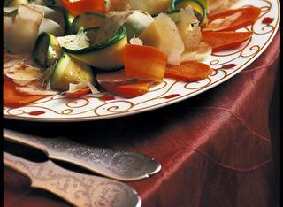 Ricetta Carpaccio di verdure al vapore