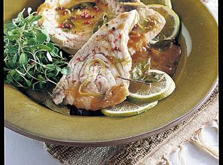 Ricetta Pesce spada marinato al limone
