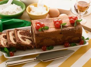 Plum-cake macchiato