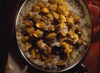 Ricetta Pollo al cocco e curry