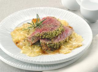 Ricetta Filetto in crosta di erbe aromatiche