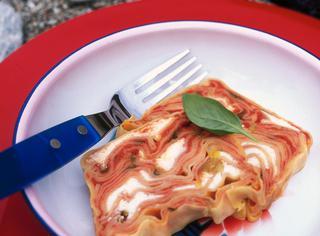 Terrina di lasagne alla robiola