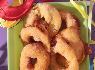 Ricetta Frittelle di mela a girella