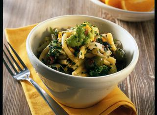 Ricetta Pasta con broccoletti, cavolfiore e olive