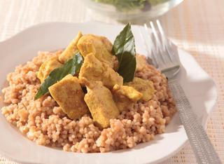 Cous cous di pollo al curry
