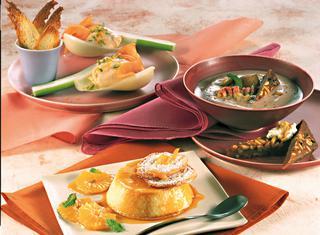 Ricetta Mousse di salmone al pesto d'arancia e pistacchi