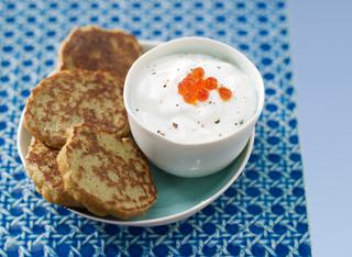 Ricetta Crocchette di lenticchie rosse con crema di yogurt