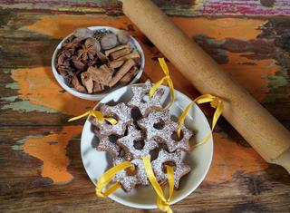 Ricetta Biscotti di Natale con lo zucchero di cocco