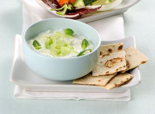 Ricetta Tzaziki di yogurt di soia
