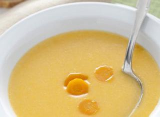 Ricetta Zuppa di carote e riso alla Crécy