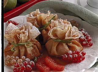 Ricetta Fagottini di crepes dolci