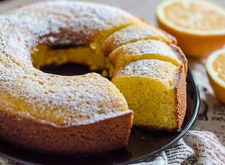 Ricetta Ciambellone al succo di arancia e limone