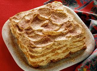 Torta fredda di biscotti