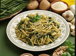 Trofie al pesto fagiolini e patate