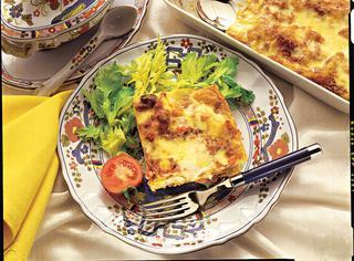 Vincisgrassi (lasagne al forno)