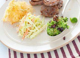 Ricetta Mini hamburger di salsiccia e pollo