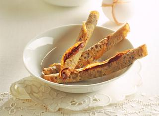 Ricetta Sigari di crepes alla Nutella ®