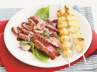 La ricetta della costata con salsa barbecue