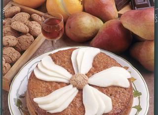 Ricetta Torta di pere e amaretti