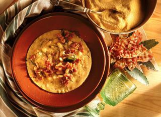 Ricetta Zuppa di polenta e fagioli cannellini