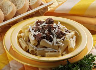 Maccheroni salsiccia e lenticchie