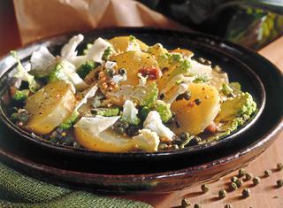 Ricetta Insalata di cavolfiore in salsa d'acciughe