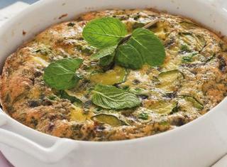 Ricetta Frittata al forno con patate e zucchine