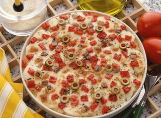 Ricetta Doppia pizza farcita